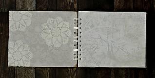Papiernictvo - Vintage svadobný album/rodinný album BLISS 2 - 8120577_