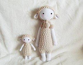 Hračky - malá ovečka (lupo the lamb) - 8117605_
