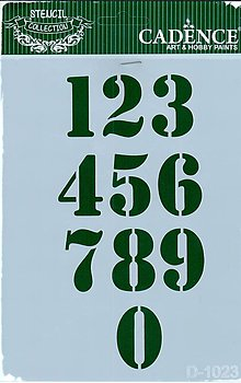 Pomôcky/Nástroje - Šablóna D1023 - 8118508_