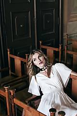 Šaty - Biele letné šaty pre vílu - 8118809_