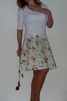Sukne - Sukienka Šípová Ruženka - zľava - 8124233_