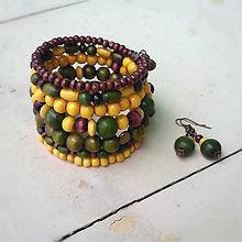 Sady šperkov - vo farbe slnečníc - 8123853_