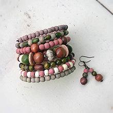 Sady šperkov - v zemitých odtieňoch - 8123939_