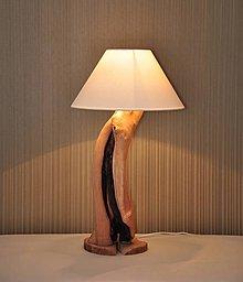Svietidlá a sviečky - Beech split lamp - 8124610_