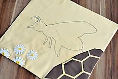 Hračky - Včela - puzzle - 8124245_