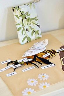 Hračky - Včela - puzzle - 8124246_