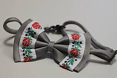 Detské doplnky - HM - Folkový motýlik detský - 8121655_