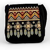 Iné tašky - Taška na plece L indiánska výšivka 01 - 8124370_