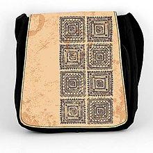 Iné tašky - Taška na plece L indiánsky ornament 01 - 8124349_