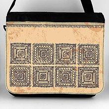 Iné tašky - Taška na plece XL indiansky ornament 01 - 8124358_