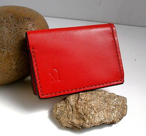 e6e9fd3051 Peňaženka - Mini Money Red   desana - SAShE.sk - Handmade Peňaženky