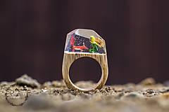 Prstene - Malý princ a líška - 8122253_