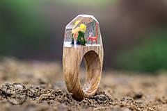 Prstene - Malý princ a líška - 8122254_