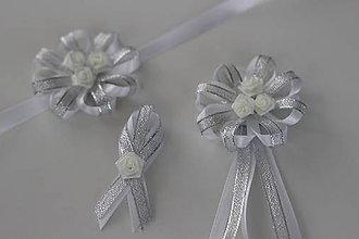 Pierka - Strieborné svadobné pierka pre otcov - 8121643_