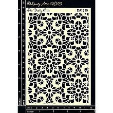 Pomôcky/Nástroje - Dusty Attic - Lace (šablóna s čipkovaným vzorom) - 8121329_