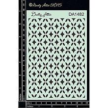Pomôcky/Nástroje - Dusty Attic - Bedazzled (šablóna s elegantným geometrickým vzorom) - 8121363_