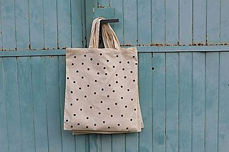 Nákupné tašky - bodkova. - 8122605_
