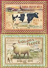 - ryžový papier zvieratá - 8123002_