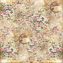 Papier - ryžový papier hodiny - 8124063_
