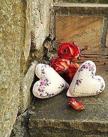 Dekorácie - Ružička ruža II - 8122978_