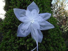 Dekorácie - Kvetinky na svadobnú výzdobu - 8121175_