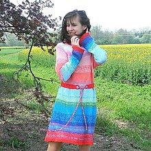 Šaty - Jako duha S/M - 8125606_