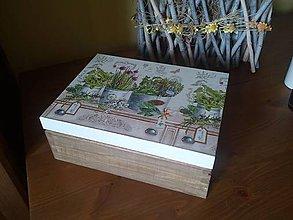 Krabičky - bylinky na čaje - 8125106_
