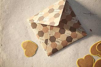 Papiernictvo - Obálka na peniaze / prianie / drobnosti - 8126495_