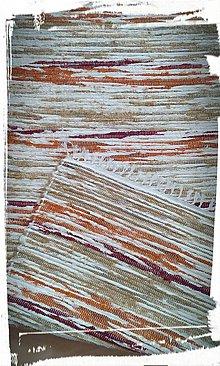 Úžitkový textil - Koberček-pestrý - 8126491_