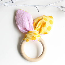 Hračky - Drevené hryzátko pre najmenších Ice cream - 8126186_