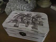 Krabičky - Krabička Anjeli - 8125350_