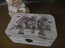 Krabičky - Krabička Anjeli - 8125351_