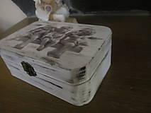 Krabičky - Krabička Anjeli - 8125353_