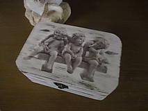 Krabičky - Krabička Anjeli - 8125355_