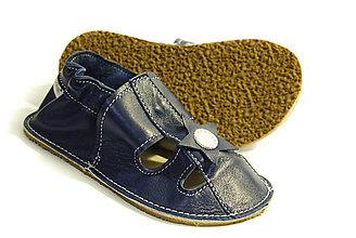 Topánočky - Capačky s gumenou podrážkou - s hviezdičkou - 8124909_