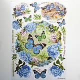 Papier - Ryžový papier Stamperia A4-  DFSA4183 - 8127930_