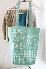 Veľké tašky - Textilná taška 2v1 Nella AKCIA!!! - 8128228_