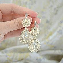 Náušnice - Diamond Bridal Silver (Ag925) - 8126617_