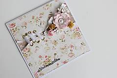 Papiernictvo - Svadobná pohľadnica - 8125962_