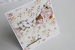 Papiernictvo - Svadobná pohľadnica - 8125966_