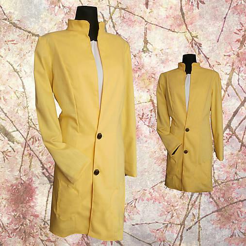 žltý kabátik 2   nicusa - SAShE.sk - Handmade Kabáty 3b04da09431
