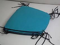 Úžitkový textil - Podsedák filcový so šnúrkami - 8126095_