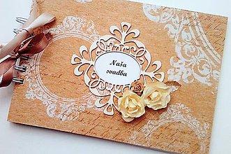 Papiernictvo - svadobná kniha hostí - A5 - 8126704_