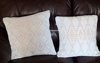 Úžitkový textil - Sneho biela elegancia & folk 1 - 8127858_