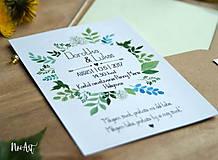 Papiernictvo - Svadobné oznámenie 20 - 8130087_