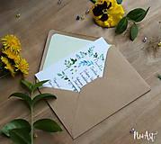 Papiernictvo - Svadobné oznámenie 20 - 8130088_