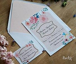 Papiernictvo - Svadobné oznámenie 19 - 8129045_