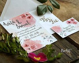Papiernictvo - Svadobné oznámenie 21 - 8129913_