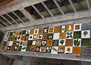 Dekorácie - obkladačky vidiecke - rezervované - 8129119_