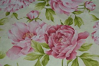 Textil - Látka Pivónie - 8130820_